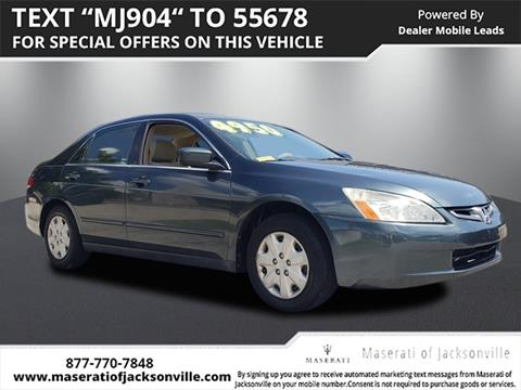 2004 Honda Accord for sale in Jacksonville, FL