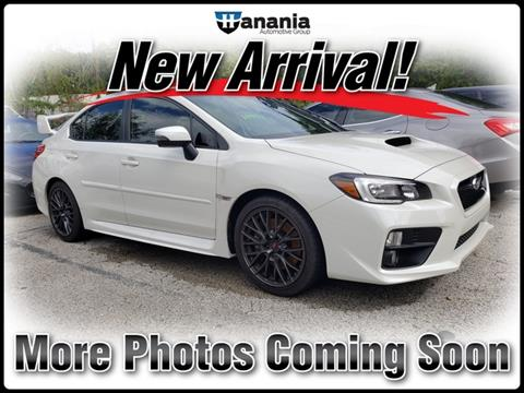 2016 Subaru WRX for sale in Jacksonville, FL