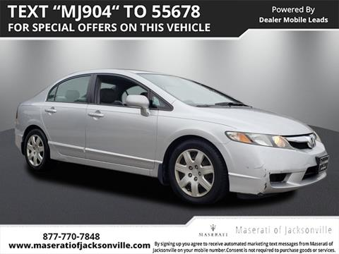 2009 Honda Civic for sale in Jacksonville, FL