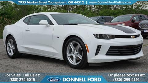 2016 Chevrolet Camaro for sale in Youngstown, OH