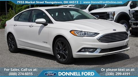 2018 Ford Fusion Hybrid for sale in Youngstown, OH