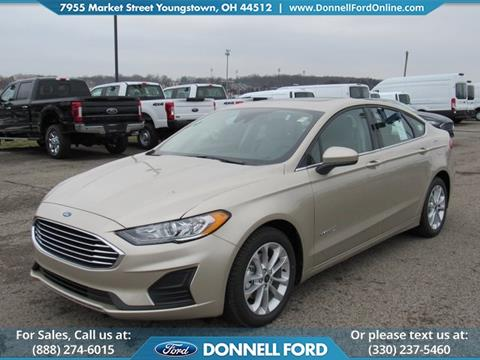 2019 Ford Fusion Hybrid for sale in Youngstown, OH