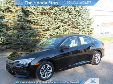 2016 Honda Civic for sale in Youngstown, OH