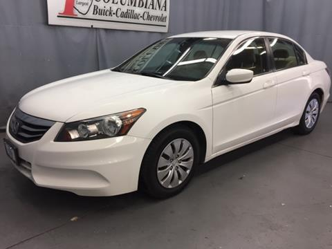 2012 Honda Accord for sale in Columbiana, OH