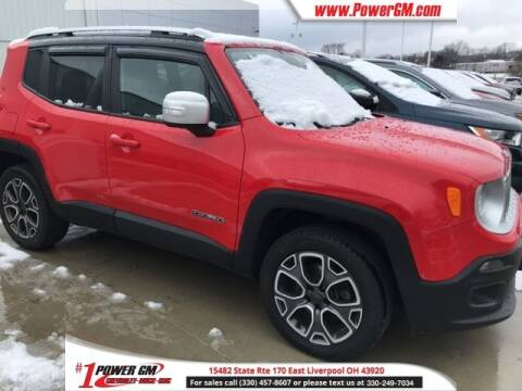 2015 Jeep Renegade Limited for sale at Power GM in East Liverpool OH