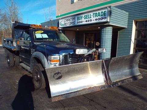 2010 Ford F-550 Super Duty for sale in Twinsburg, OH