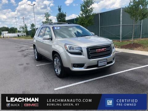 Used Gmc Acadia For Sale In Kentucky Carsforsale Com
