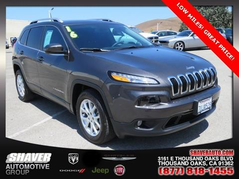 2016 Jeep Cherokee for sale in Thousand Oaks, CA