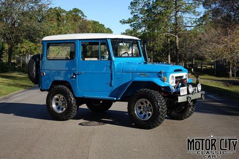 1966 Toyota Land Cruiser for sale in Vero Beach, FL