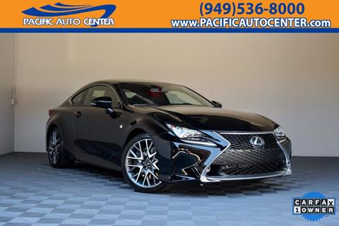 2015 Lexus RC 350 for sale in Costa Mesa, CA