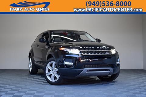 2015 Land Rover Range Rover Evoque Coupe for sale in Costa Mesa, CA