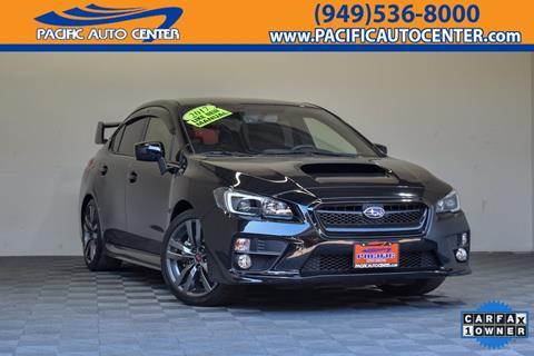 2017 Subaru WRX for sale in Costa Mesa, CA