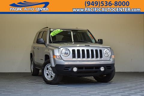 2016 Jeep Patriot for sale in Costa Mesa, CA