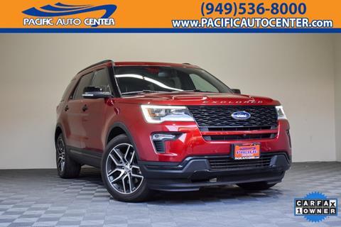 2018 Ford Explorer for sale in Costa Mesa, CA