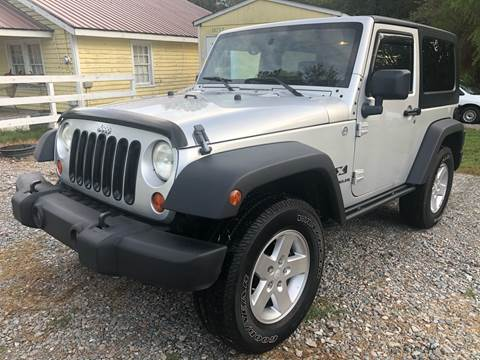 2007 Jeep Wrangler for sale in Four Oaks, NC