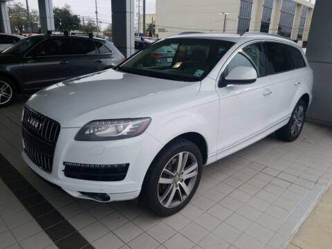 2014 Audi Q7 3.0T quattro Premium Plus for sale at AUDI NEW ORLEANS in Metairie LA