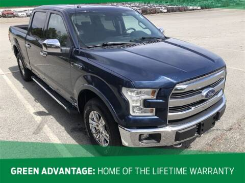 2016 Ford F-150 Lariat for sale at GREEN FORD in Greensboro NC
