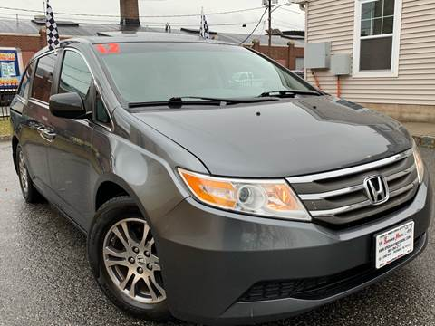 2012 Honda Odyssey EX-L w/DVD