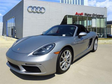 2017 Porsche 718 Boxster for sale in Metairie, LA
