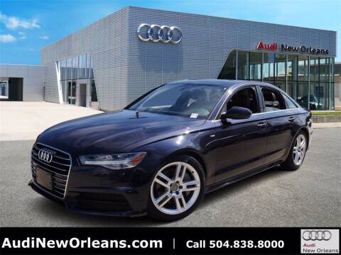 2017 Audi A6 for sale at Metairie Preowned Superstore in Metairie LA
