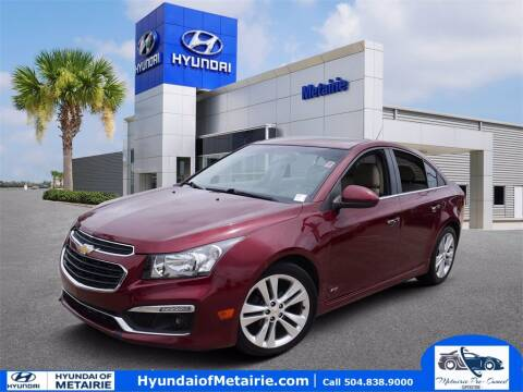 2015 Chevrolet Cruze for sale at Metairie Preowned Superstore in Metairie LA