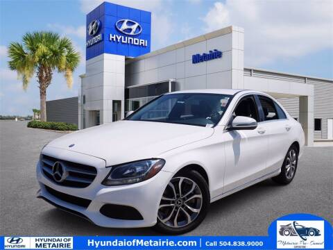2017 Mercedes-Benz C-Class for sale at Metairie Preowned Superstore in Metairie LA