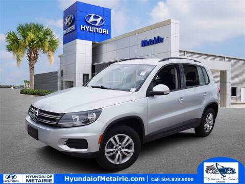 2017 Volkswagen Tiguan for sale at Metairie Preowned Superstore in Metairie LA