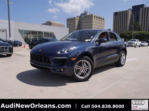 2015 Porsche Macan for sale at Metairie Preowned Superstore in Metairie LA