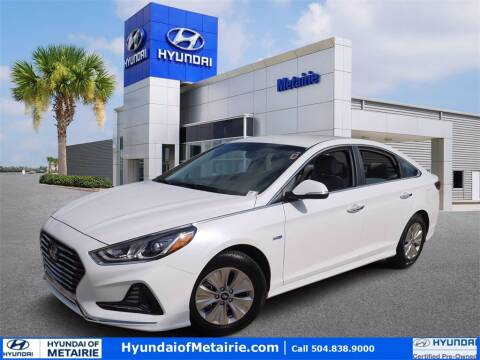 2019 Hyundai Sonata Hybrid for sale at Metairie Preowned Superstore in Metairie LA