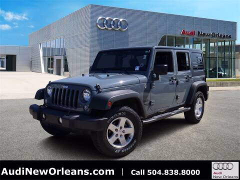 2015 Jeep Wrangler Unlimited for sale at Metairie Preowned Superstore in Metairie LA