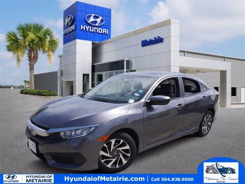 2016 Honda Civic for sale at Metairie Preowned Superstore in Metairie LA