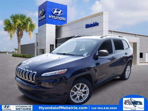 2016 Jeep Cherokee for sale at Metairie Preowned Superstore in Metairie LA