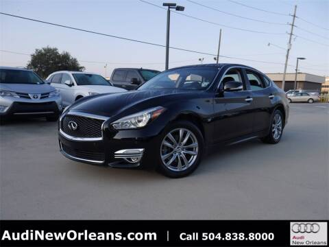 2016 Infiniti Q70 for sale at Metairie Preowned Superstore in Metairie LA