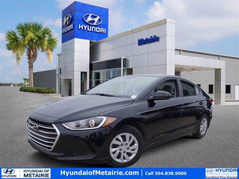 2017 Hyundai Elantra for sale at Metairie Preowned Superstore in Metairie LA
