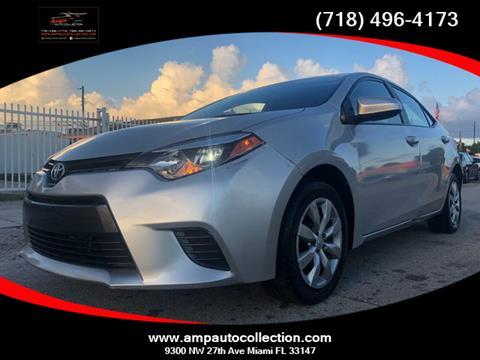 2016 Toyota Corolla for sale in Miami, FL