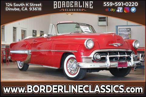 1953 Chevrolet Bel Air for sale at Borderline Classics in Dinuba CA