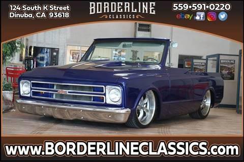 1971 Chevrolet Blazer for sale at Borderline Classics in Dinuba CA
