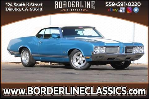 1970 Oldsmobile Cutlass Supreme for sale at Borderline Classics in Dinuba CA