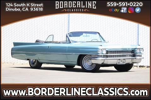 1963 Cadillac DeVille for sale at Borderline Classics in Dinuba CA