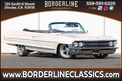 1962 Cadillac Eldorado for sale at Borderline Classics in Dinuba CA