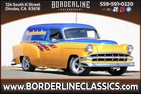 1954 Chevrolet Sedan Delivery for sale at Borderline Classics in Dinuba CA