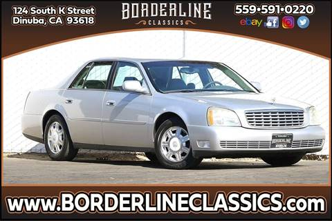 2003 Cadillac DeVille for sale at Borderline Classics in Dinuba CA