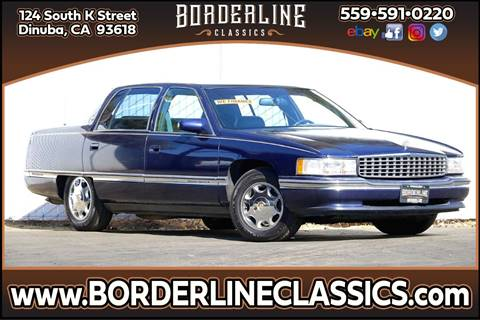 1994 Cadillac DeVille for sale at Borderline Classics in Dinuba CA