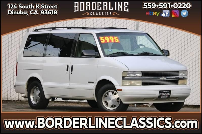 1999 Chevrolet Astro for sale at Borderline Classics in Dinuba CA
