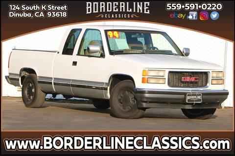 1994 GMC Sierra 1500 SLE for sale at Borderline Classics in Dinuba CA