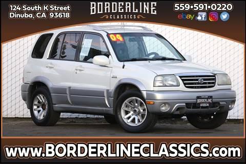 2004 Suzuki Grand Vitara EX for sale at Borderline Classics in Dinuba CA