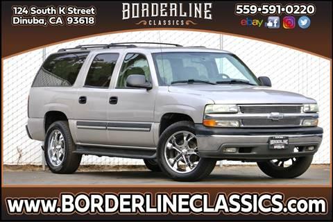 2004 Chevrolet Suburban 1500 for sale at Borderline Classics in Dinuba CA