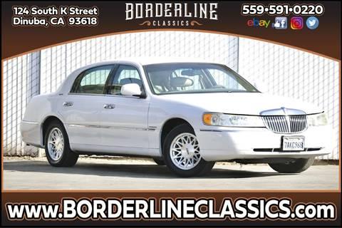 1999 Lincoln Town Car Signature for sale at Borderline Classics in Dinuba CA