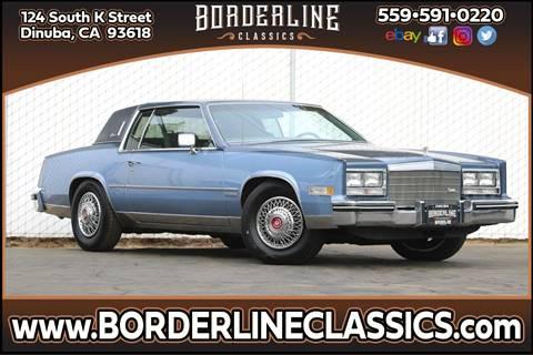 1983 Cadillac Eldorado for sale at Borderline Classics in Dinuba CA