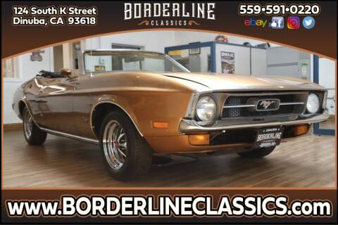 1972 Ford Mustang for sale at Borderline Classics in Dinuba CA